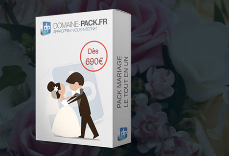 Pack Site Web Mariage