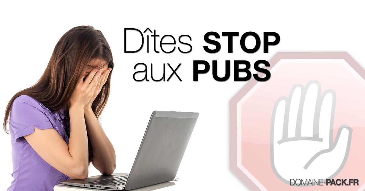 Désactiver les pubs