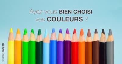 choisissez bien vos couleurs