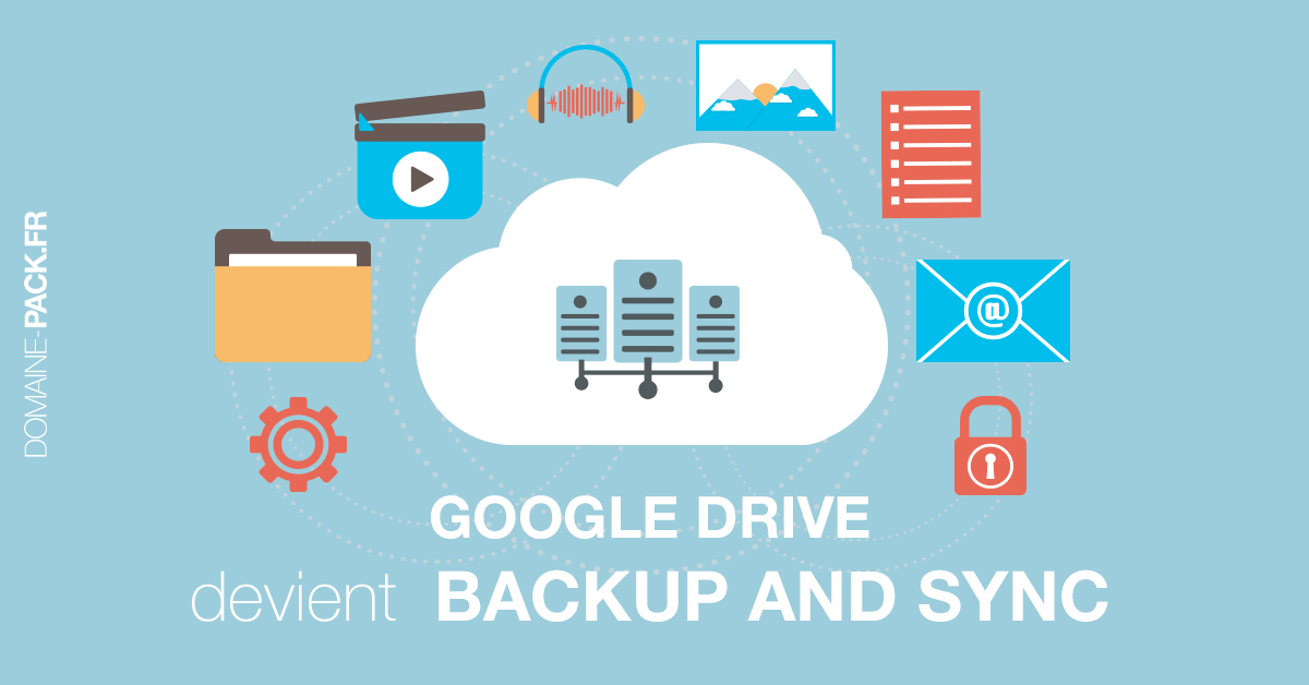 Google Drive devient Backup and Sync