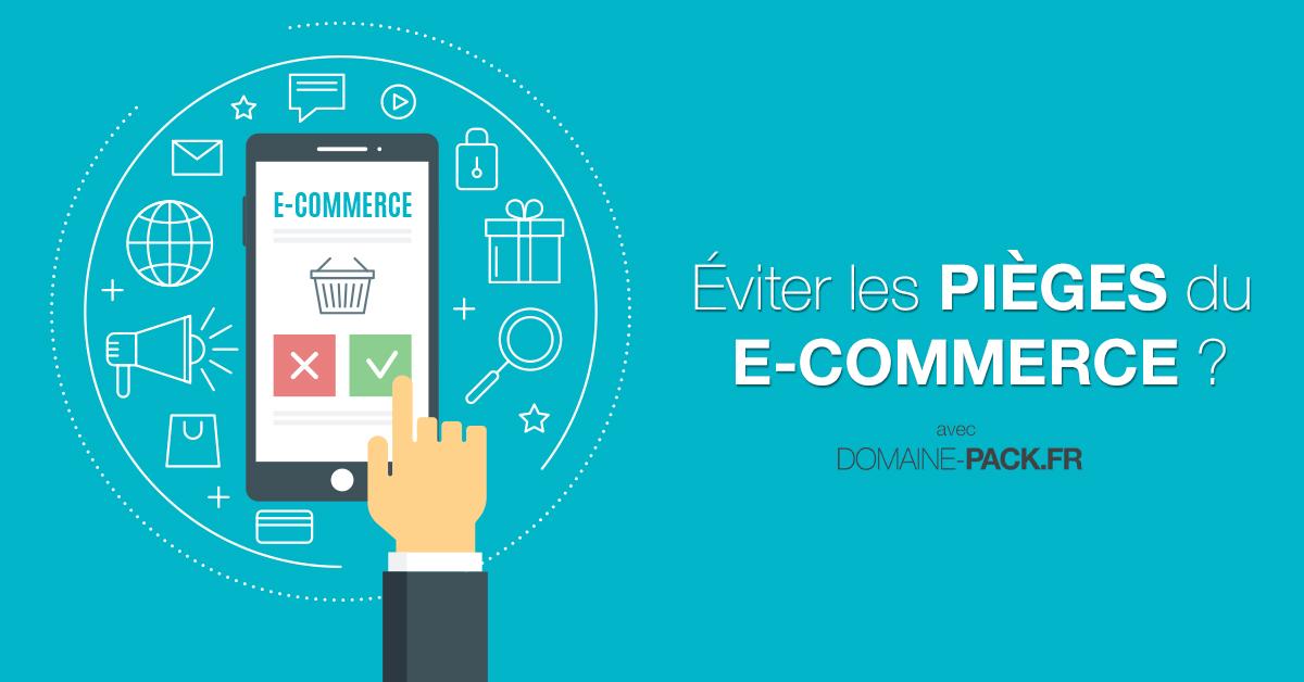 le e-commerce avec Domaine Pack