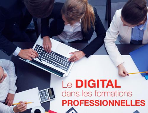 L'arrivée du digital dans les formations professionnelles