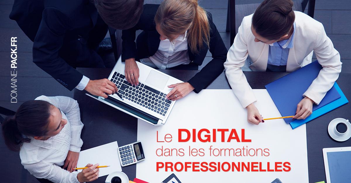 l'évolution numérique dans les formations pro