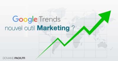 google trends la recherche de mot clefs