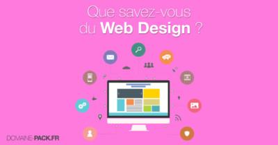 Le web design qu'est ce que c'est ?