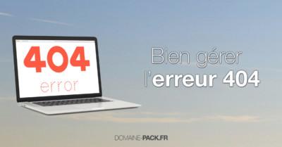 Comment avoir une belle page 404